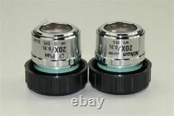 1Pcs Nikon Microscope Cf Plan 20X/0.35 Slwd /0 Wd 20.5MM Epi Objective Lens qp