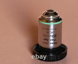 NIKON PLAN APO 20X DIC Microscope Objective