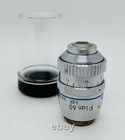 NIKON Plan 60X/0.85 DRY/AIR Microscope Objective Correction Collar 160mm
