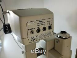 NIKON SMZ-U ZOOM 110 MICROSCOPE 2X UW10XA/24 ED PLAN 0.75X 1.25X H-III Camera