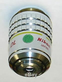 Nikon 10X CFN Plan Achromat Phase-1 Microscope Objective