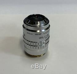Nikon BD Plan 100X ELWD Microscope Objective 210mm Extra Long Working Distance
