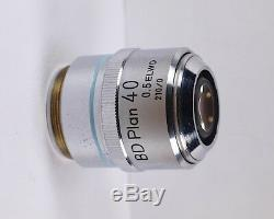 Nikon BD Plan 40x ELWD Long Working Distance 210 TL Dry Microscope Objective