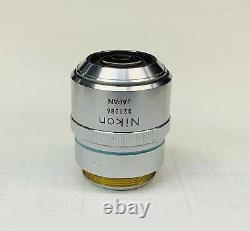 Nikon BD Plan ELWD 40x/0.5 Microscope Objective Lens 210mm