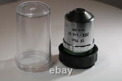 Nikon CF Plan 20x/0.40 DI Mirau Interferometer Microscope Objective Working
