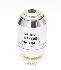 Nikon CF Plan Apo 100x 0.95 EPI Infinity Microscope Objective Planapo