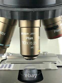 Nikon CFI Plan 10x / 0.25 Infinity Microscope Objective M25 Threads 110% Refund