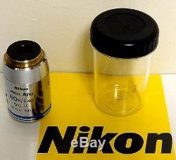 Nikon CFI Plan APO 60X Microscope Objective