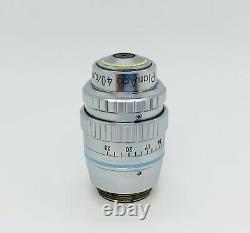 Nikon CFN PlanApo 40X /0.95 Plan Apochromat 160/0.11-0.23 Microscope Objective