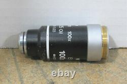 Nikon E Plan 100x/1.25 Oil /0.17 WD 0.23 Objective for Eclipse E200 Microscope