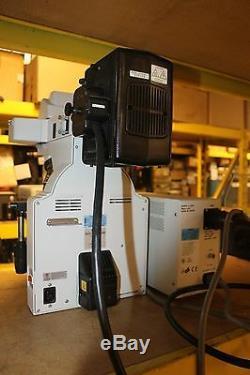 Nikon Eclipse E400 MICROSCOPE LOADED LAMP POWER SUPPLY PLAN OBJECTIVES EYE PIECE