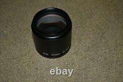 Nikon Ed Plan 0.5x Objective For Smz-u Stereo Microscope (de25)