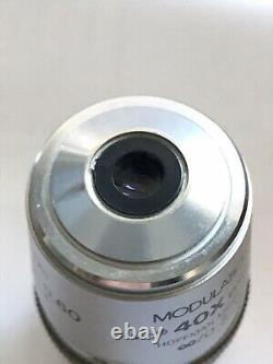 Nikon Hoffman Modulation Contrast Plan Fluor ELWD 40X Microscope Objective