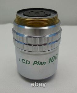 Nikon LCD Plan 100x/0.80 ELWD DIC Microscope Objective with 7 day warranty