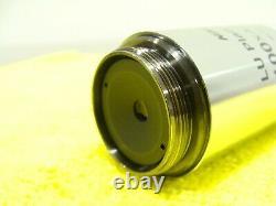 Nikon LU Plan Fluor 100x Microscope Objective 100XA/0.90 A OFN25 MUE10901 EPI