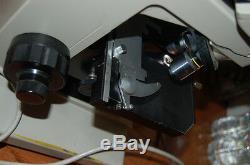 Nikon Labophot trinocular Microscope Achr-ApI WHK 10x/20 L Plan DPlan 100