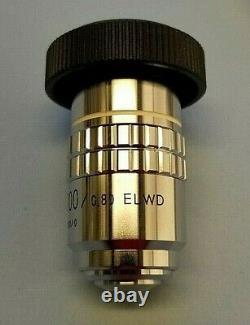 Nikon M Plan 100x ELWD Dry 210 TL Metallurgical Microscope Objective