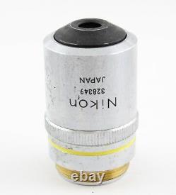 Nikon M Plan 10x 0.25 Microscope Objective