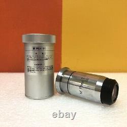 Nikon M Plan 1x / 0.03 (78777) Metalurgical Reflected Light Microscope Objective