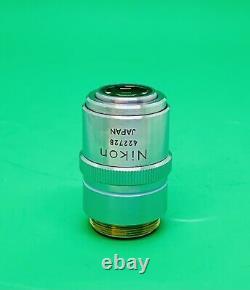 Nikon M Plan 40X/0.5 ELWD Microscope Objective Lens 210mm Extra Long Distance