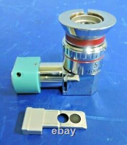 Nikon M-Plan 5X / 0.1 TI Microscope Interferometry Objective Interferometer Lens