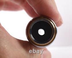 Nikon M Plan 60x /. 80 210 TL Metallurgical Microscope Objective