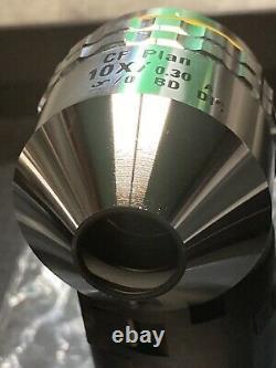 Nikon Microscope Objective CF Plan 10x / 0.30 A /0 BD DIC