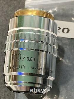 Nikon Microscope Objective Lens BD Plan 100X 0.80 ELWD 210/0