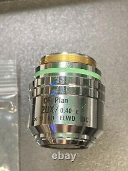 Nikon Microscope Objective Lens CF Plan 20X/0.40 E /0 BD ELWD DIC