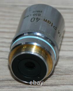 Nikon Mikroskop Microscope Objektiv M Plan 40/0,55 LWD (endlich Optik)