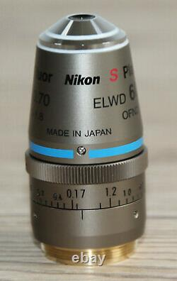 Nikon Mikroskop Microscope Objektiv S Plan Fluor ELWD 60x/0,70 DIC N1