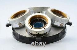 Nikon Optiphot BD Plan DIC 4 Objective Nosepiece Turret Microscope 26mm 21480