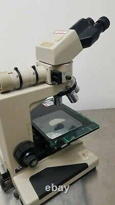 Nikon Optiphot BF/DF Microscope with BD Plan Objectives 5x 10x 20x 40x