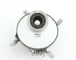 Nikon Optiphot M Plan DIC 4 Objective Nosepiece Turret Microscope