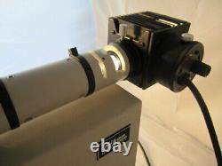 Nikon Optiphot Microscope trinocular head 10,20,40,100 M plan, 6x10 stage