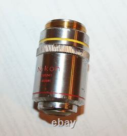 Nikon Ph1 Plan DL 10x /0.25 160/- Phase Contrast Microscope Objective Lens