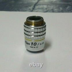 Nikon Plan 10/ 0.30 160/0.17 Microscope Objective