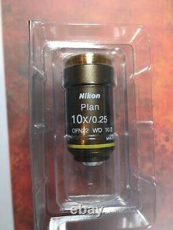 Nikon Plan 10x Microscope Objective. Great For Extreme Macro