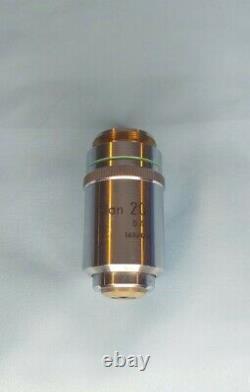 Nikon Plan 20x 0.4 160/0.17 Microscope Objective