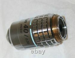 Nikon Plan 40/0.70 160/0.17 Microscope Objective Lens 240796