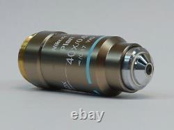 Nikon Plan 40X/0.65 /0.17 WD 0.56 Microscope Objective