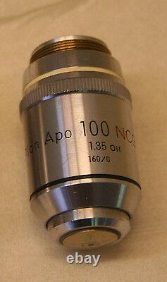 Nikon Plan APO 100 NCG 1.35 Oil 160/0 Microscope Objective Lens 600001