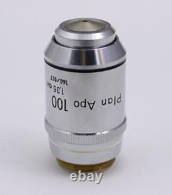 Nikon Plan APO 100x /1.35 160mm TL Microscope Objective PlanAPO