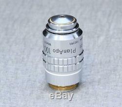 Nikon Plan APO 100x /1.40 Oil 160/0.17 Microscope Objective 100 PlanApo
