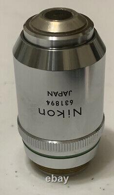 Nikon Plan APO 20, 0.65, 160 / 0.17 Apochromatic Microscope Objective