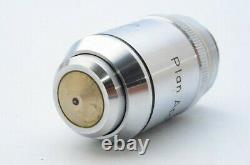 Nikon Plan Apo 100x 1.35 Oil 160/0.17 Microscope Objective Lens 20.25mm 21515