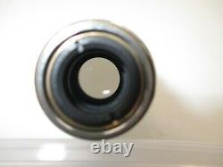 Nikon Plan Apo 10X 0.4 160/0.17 Microscope objective lens Apochromatic RMS