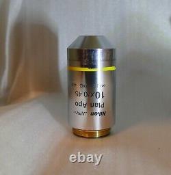 Nikon Plan Apo 10X Microscope Objective