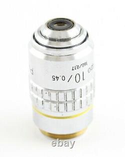 Nikon Plan Apo 10x 0.45 CFN Microscope Objective Optiphot Labophot