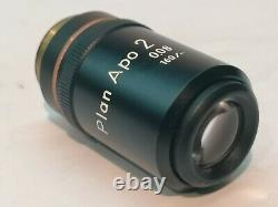 Nikon Plan Apo 2x Microscope Objective, Plan Apochromat, Mikroskop Objektiv